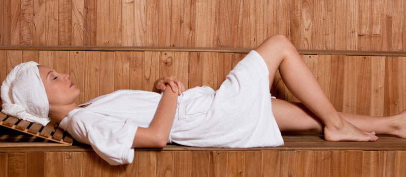 Infrared Sauna sessions